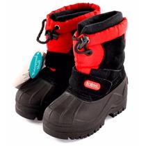 Botas Nieve-lluvia N° 24 Nuevas -calcetín Desmontable