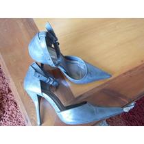 Lindos Zapatos #37, Bata, Color Gris