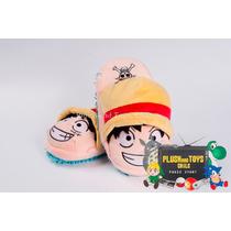 One Piece Luffy Pantuflas