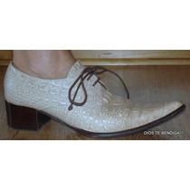 Zapatos,botas,botines Vaqueros Cuero 36