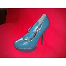 Exclusivos Zapatos De Charol Con Plataforma 37 1/2