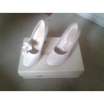 Zapato De Novia Grezzo Talla 35