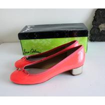 Ballerinas Tacon Sam Edelman 100% Cuero Coral Nuevas 38