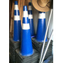 Conos Azules De 36 Pulgadas De Alto