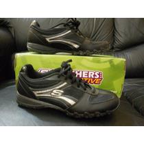 Vendo Zapatillas Skechers Black/silver, Nº 36.5