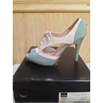 Zapato Gacel De Cuero Número 38, Completamente Nuevo.