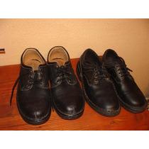 Zapatos Varón Negros Nº 43 Y Nº45 - Nuevos -capellada Cuero