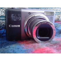 Cámara Canon Power Shot A2000 Is 1o Megapixeles 6x Zoom