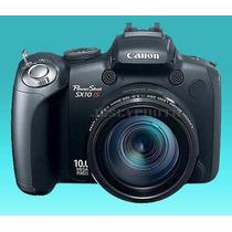 Canon Power Shot Sx10is 10mp-20xoptic Zoom Japan+bonus