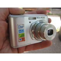 Camara Digital Soligor C 880 8 Mpx Y Memoria 2 Gb