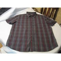 Camisa Sport Armani Exchange Talla Xl Manga Corta Impecable