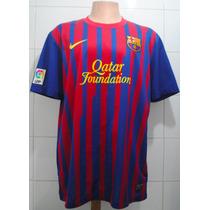 Camiseta Barcelona, Año 2011-2012, Nike, Talla Xl