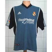 Camiseta Real Madrid, 2001 - 2002, Adidas, Talla M
