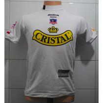 Camiseta Colo Colo, De Niño, Reebok, Año 2004, #3 L. Mena