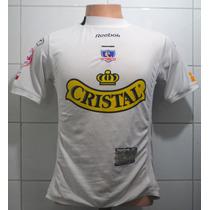 Camiseta Colo Colo De Niño, 2004, Reebok, #14 M. Fernandez