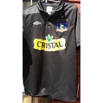 Camiseta Colo Colo 2010 Negra Niño