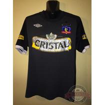 Camiseta Visita Colo Colo 2011, Marca Umbro, Talla M