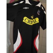 Camiseta Negra Entrenamiento Colo Colo Umbro