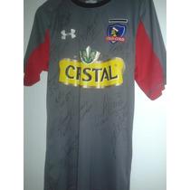 Camiseta De Colo Colo 2014 Autografiada