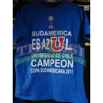 Polera Sudamerica Es Azul, Tifossi