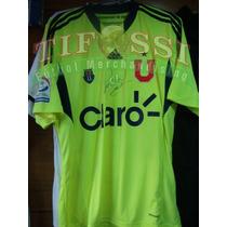 Camiseta U De Chile Oficial , Marin , Tienda Tifossi