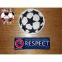 Parche Champions League, N° Cup Y Respect