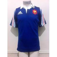 Camiseta Selección Francia De Rugby 2014-2015 Titular Adidas