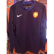 Camiseta Rugby Nike Selección De Francia Chabal Talla Xl