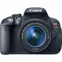 Cámara Reflex Canon Eos Rebel T5i Kit 18-55mm Garantía 1 Año