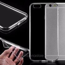 Carcasa Transparente Iphone 6 + Mica De Vidrio + Lapiz Cable