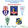 Carcasas De Equipos De Futbol Para Iphone 5, Oferta !!!