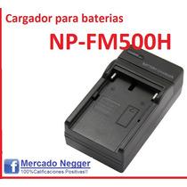 Cargador Bateria Np-fm500h Fm50 Fm55h Fm30 Fm70 Fm90 F550 58