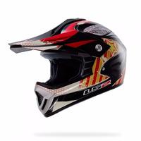 Casco Moto Niño Ls2 Mx426 Nasty Junior Motocross Enduro
