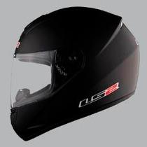 Casco Ls2 Moto 351 Mono Negro Matte Integral Certificado