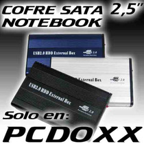 Cofre Case Para Disco Duro Sata Serial Ata 2.5 Usb