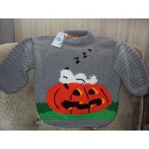 Halloween Tejidos Chalecos Y Chombas Bebes Y Niños Halloween