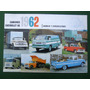 Catalogo Camionetas Chevrolet 1961 1962 Original