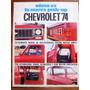 Brochure Catalogo Camioneta Chevrolet 74