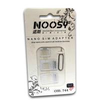Adaptador Nano Sim A Micro Sim Y Sim Normal Iphone 6s 5 4s 4