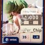 Chip Entel Con $1000 En Llamadas