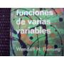 Funciones De Varias Variables De Wendell H. Fleming