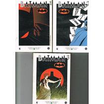 Batman Biblioteca Del Mundo Tres Volúmenes D.c Comics