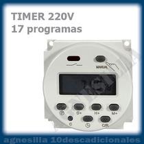 Timer Digital 220 Temporizador Programable Automático