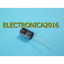 4x Condensador Electrolitico 470uf 25v
