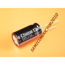 5 Unidades, Condensador Electrolitico 680uf 35v