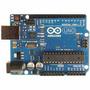 Arduino Uno (r3) Con 10 Leds, 10 Resistencias Y Cable Usb