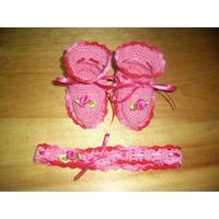 Zapatos Mas Cintillo Crochet
