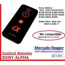 Control Remoto Para Camaras Sony Alpha Y Nex
