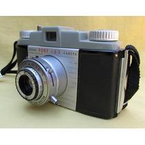 Camara Kodak Pony 135, 1949, Obturando