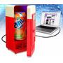 Mini Resfrigerador Conecta Vía Usb